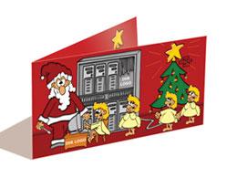 Branchen-Weihnachtskarten