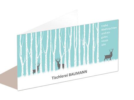 elegante weihnachtskarten gesch ftlich. Black Bedroom Furniture Sets. Home Design Ideas