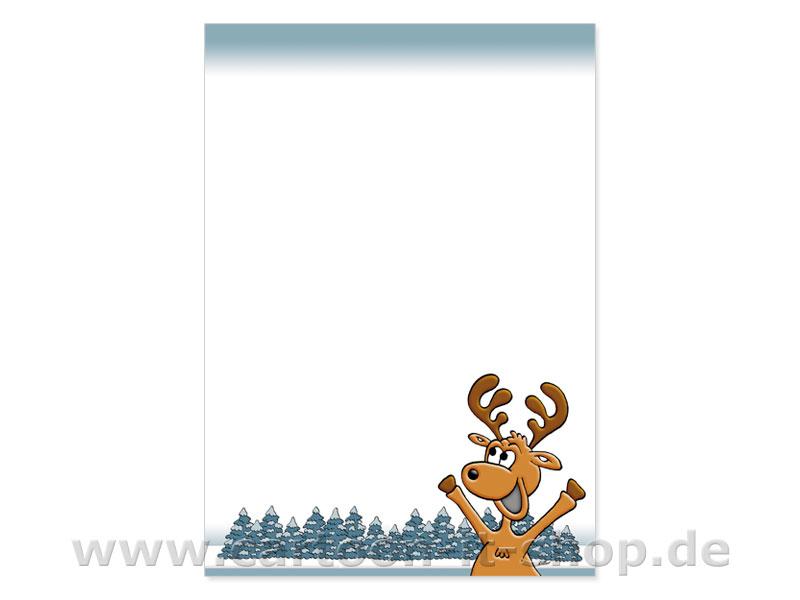 weihnachtsbriefpapier