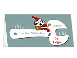 branchenkarten weihnachten mit eigenem firmen logo. Black Bedroom Furniture Sets. Home Design Ideas